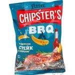 Чипсы Flint Chipster's стейк с соусом 70г