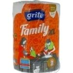 Рушник паперовий Grite Family XL 1 шт