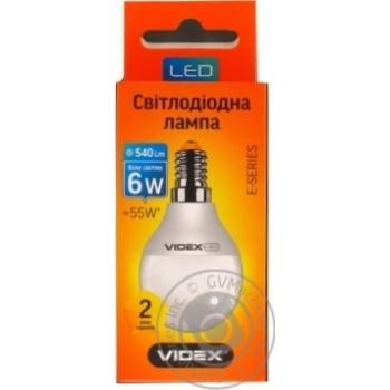 Лампа Videx LED G45e 7W E14 4100K 220V