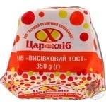 Bread Tsar hlib bran cutting 350g