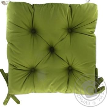 Подушка Руно на стілець пікована 40*40см - купити, ціни на Ашан - фото 1