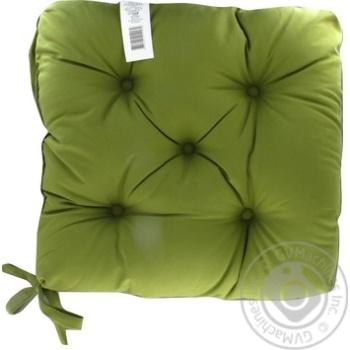 Подушка Руно на стілець пікована 40*40см - купити, ціни на Ашан - фото 2
