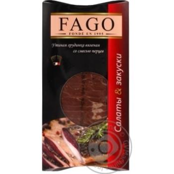 Грудинка Fago утиная вяленая со смесью перцев 90г
