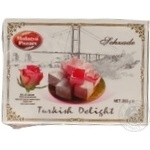 Turkish delight Malatya pazari with rose extract 200g Turkey