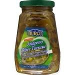 Vegetables Burcu jalapeno pepper jalapeno canned 310g glass jar Turkey