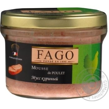 Мусс куриный Fago 180г