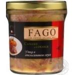 Утка Fago в апельсиновом соусе с/б 330г