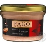 Fago duck mousse 180g