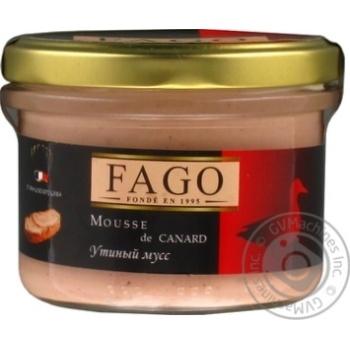 Мусс утиный Fago 180г