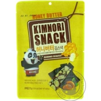 Чипсы KimNori Honey butter 25г
