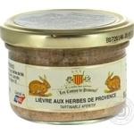 Terrine with provence herbs 90g glass jar France