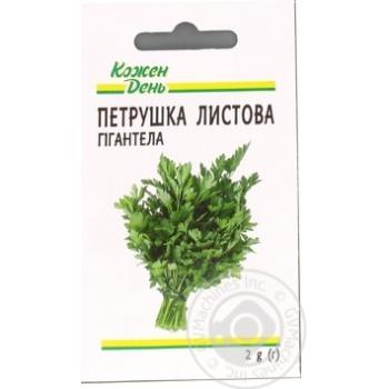 Семена Каждый День Петрушка листова Гигантелла 2г - купить, цены на Ашан - фото 3