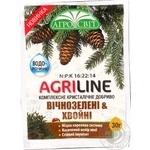 Добриво Агросвіт Agriline вічнозелені та хвойні 30г - купити, ціни на Ашан - фото 1