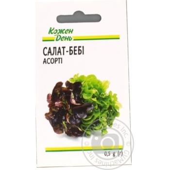 Kozhen Den Assorti Baby Lettuce Seeds 0,5g - buy, prices for Auchan - photo 2