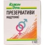 КОЖЕН ДЕНЬ презервативи ультратонкі №3