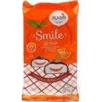 Зефир Жако Smile с апельсиновой начинкой в глазури 215г