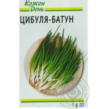 Семена Каждый День Лук-батун 1г - купить, цены на Ашан - фото 3