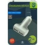 Пристрiй зарядний авто Global Charge MSH-SC-041 2USB-2.1A (чорний)