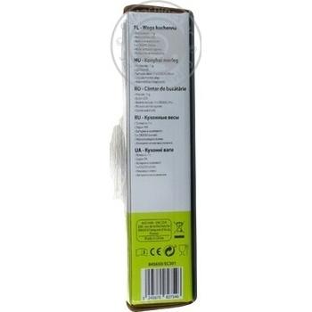 Ваги кухонні Selecline EC301 - купити, ціни на Ашан - фото 5