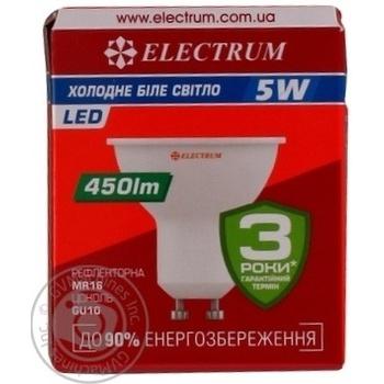 Лампа Eectrum світодіодна MR16 5W LR-26 GU10 4000К мат.ап./к.A-LR-0247 - купить, цены на Novus - фото 5