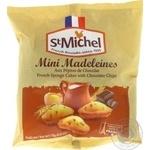 Маделені з шоколадом Mini Madeleines St Michel 175г