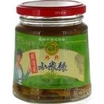 Vegetables chili pickled 280g glass jar China