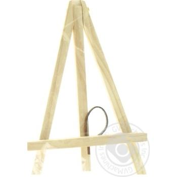 Мольберт дерев'яний 18см - купити, ціни на Ашан - фото 1