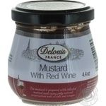 Mustard Delouis france 125g glass jar France