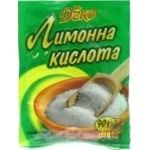 Лимонная кислота Деко 90г - купить, цены на МегаМаркет - фото 3