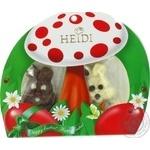Chocolate white Heidi 40g