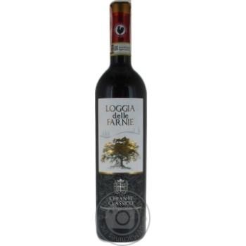 Вино Chianti Classico Loggia delle Farnie красное сухое 13% 0.75л