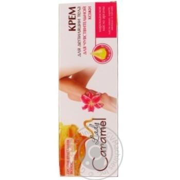 Крем для депіляції Caramel для чутливої шкіри 100мл - купити, ціни на Novus - фото 5