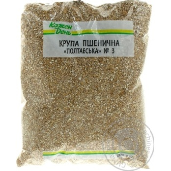 Крупа Каждый день пшеничная полтавская 1кг
