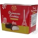Цукерки Chocmod Truffettes de France Маршмеллоу в чорному шоколаді 200г