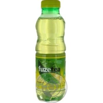 Напиток Fuzetea Зеленый чай со вкусом лимона и лайма негазированный 0,5л