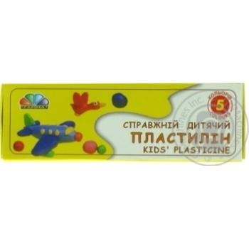Пластилін Гама Н Улюблені іграшки 5 кольорів 331024