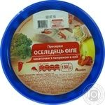 Auchan with paprika pickled fish herring 180g