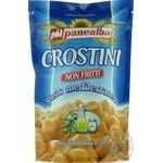 Гренки Panealba Crosrtini соленые с розмарином 100г