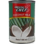 Oriental Chef coconut milk 15% 400g