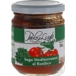 Sauce Paolo licata Auchan tomato with basil 180g glass jar Italy