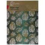 Paper clips Auchan 6pcs