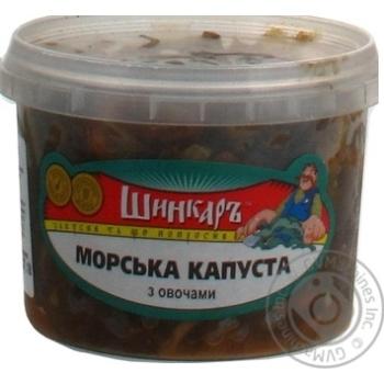 МОРСЬКА КАПУСТА З ОВОЧАМИ 300Г