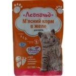 Food Leopold with liver for cats 100g