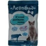 Food Leopold with meat for cats 100g