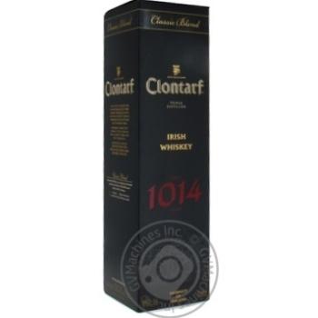 Виски Clontarf 1014 40% 0,7л