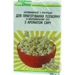 Popcorn Auchan Kozhen den with taste of cheese 100g