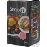 Сухарики пшенично-житні зі смаком холодець з хріном Snekkin 100г