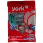 Чохол для зберігання одягу вакуумний York 60*70*34см 9307