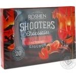 Конфеты шоколадные Roshen Shooters Текила Санрайз 150г