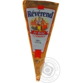 Сыр Reverend Бри мягкий 60% 200г